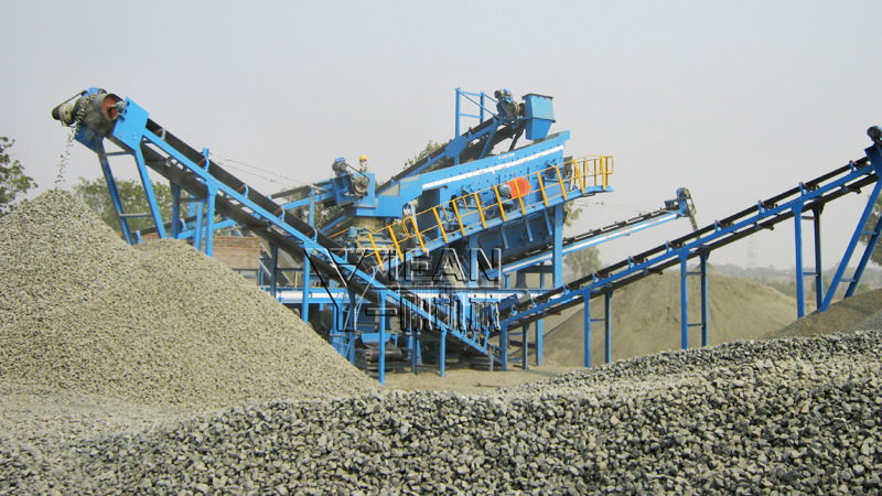 Hydraulic Cone crusher crushing basalt higher crushing efficiency