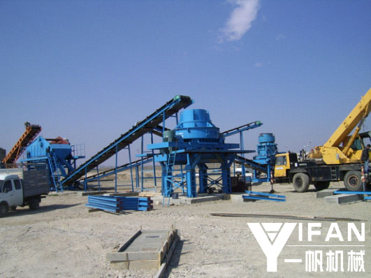 Cone crusher is applied to the basalt production line