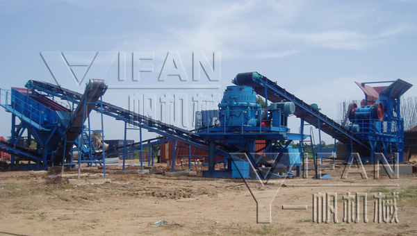 hydraulic cone crusher application