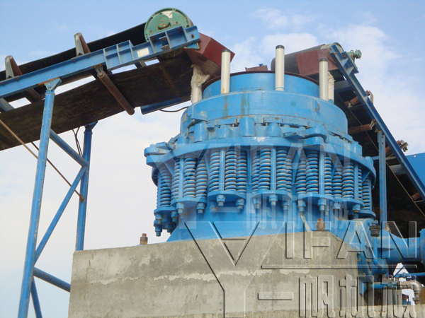 Saudi 250 tons per hour stone production line