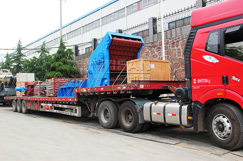 impact crusher sent to Shanghai